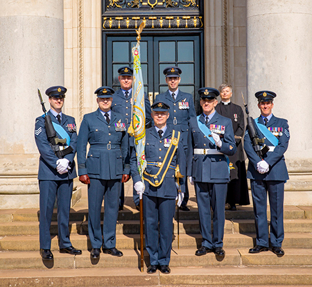 31 Sqn Standard Party